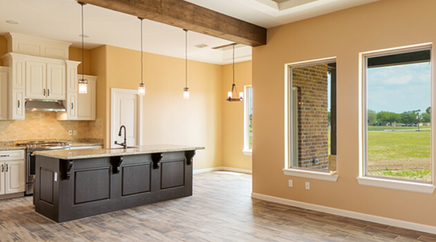 Kitchen interior by Hosanna Construction